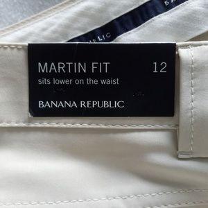 Banana Republic Pants - Banana Republic Martin Cropped Khaki NWT